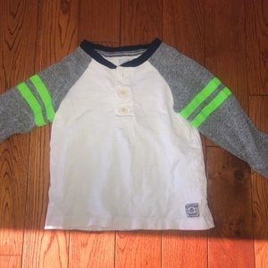 Boys 2T long sleeve Henley